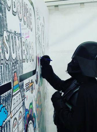 Strasculture - Fresque participative