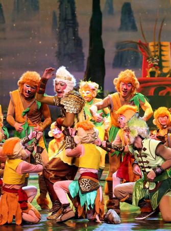Le Roi des singes - Les Étoiles du Cirque de Pékin