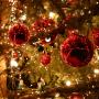 Boules et guirlandes de Noël