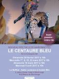 Invitations spectacle de marionnettes à fils « Le centaure bleu »