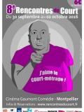 Affiche Rencontres du Court 2016