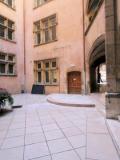 Cour du Musée de l'Imprimerie