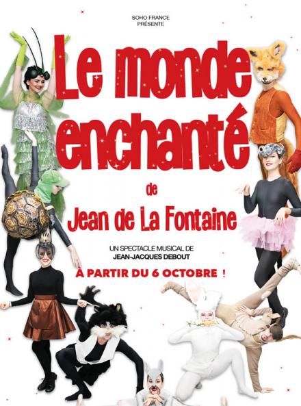 Le monde enchanté de Jean de La Fontaine - Affiche