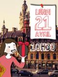Chasse aux oeufs de Pâques 2014 avec CitizenKid Lille - matin