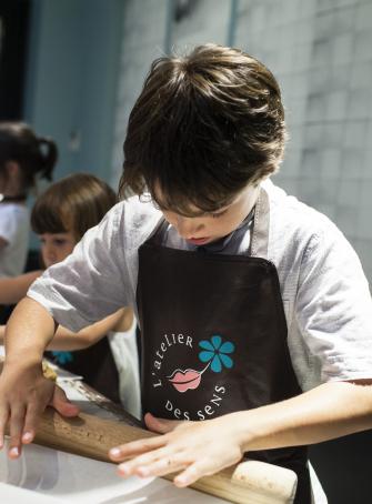 Atelier cuisine enfant - Atelier des Sens Lyon 6e