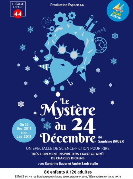 Le mystère du 24 décembre - Affiche