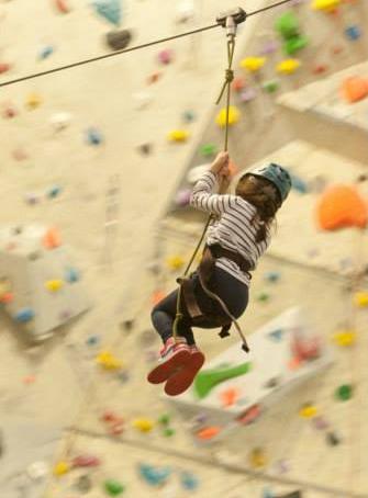 Climb'Up Lyon - Tyrolienne
