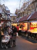 Marché de Noël place Jeanne d'Arc