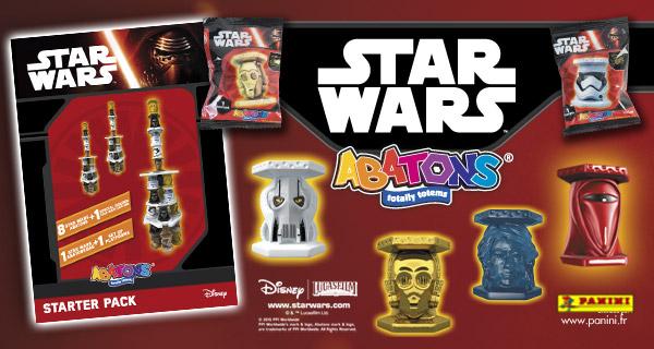 Star Wars Abatons Panini Ajouts de nouvelles fiches Forums de