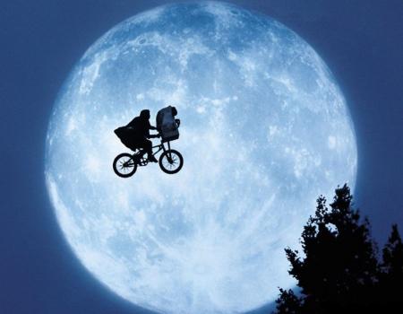 La scène de vélo la plus culte ?