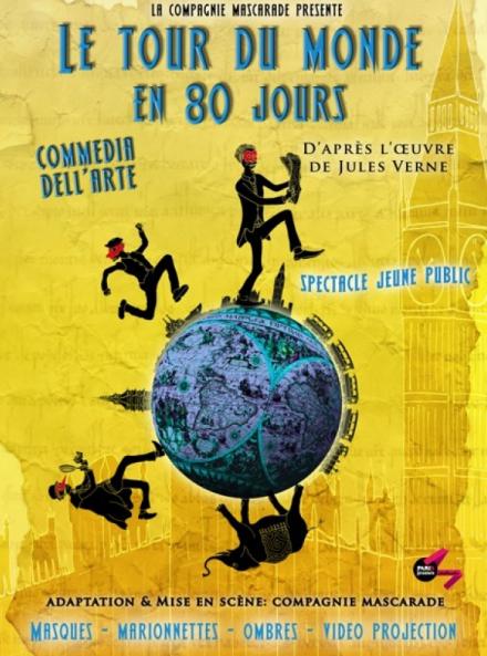 Tour du monde en 80jours - mascarade