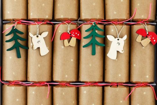 Des crackers sur la table