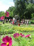 Un des jardins du parc Wesserling.
