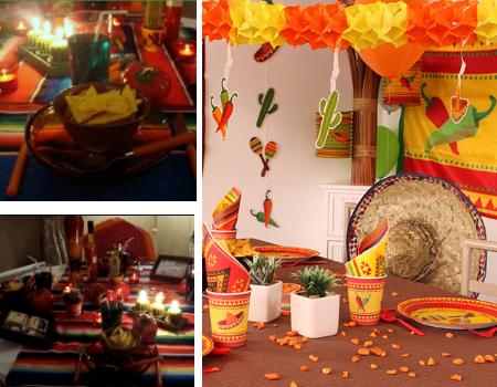 Décoration mexicaine fête
