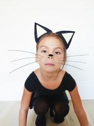 Déguisement de chat noir