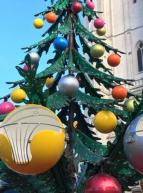 Le Noël des enfants 2017 à Nantes - Manège Sapin de Noël