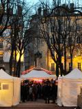 Marché de Noël de la place Sathonay