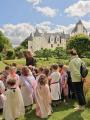 Chasse aux oeufs de Pâques au Château du Rivau