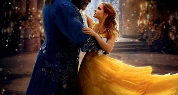 La Belle et la Bête - Affiche finale du film Disney avec Emma Watson et Dan Stevens