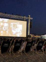 Cinéma en plein air Cannes