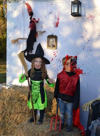 Halloween aux Rochers de Maguelone