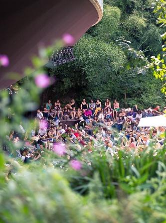 Jardin d'été - Les Siestes Électroniques © Raphaël Pincas | RP VISUALS
