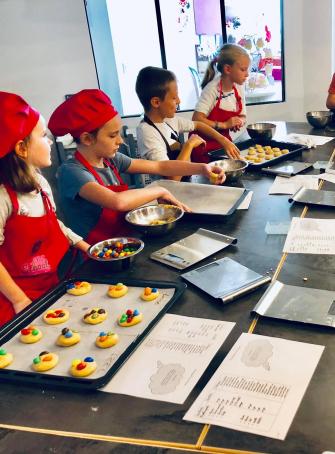 Atelier enfant à Jacobs Création