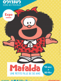 "Expo ""Mafalda, une petite fille de 50 ans"""