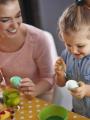 Bricolage de Pâques en famille