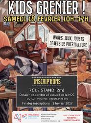 Kids grenier de la MJC Villeurbanne