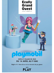 Village Playmobil Ecully Grand Ouest
