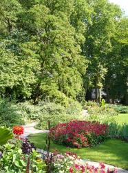 Jardin de l'Orangerie à Strasbourg