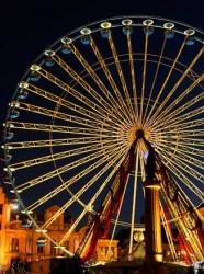 La grande roue de Noël à Lille