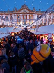 Marché de Noël de Toulouse au Capitole