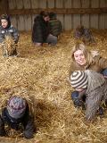 Chasse aux oeufs de Pâques à La ferme du Vinage