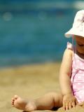 Bébé à la plage