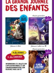 La Grande Journée des enfants 2016 - Cinémas Gaumont et Pathé