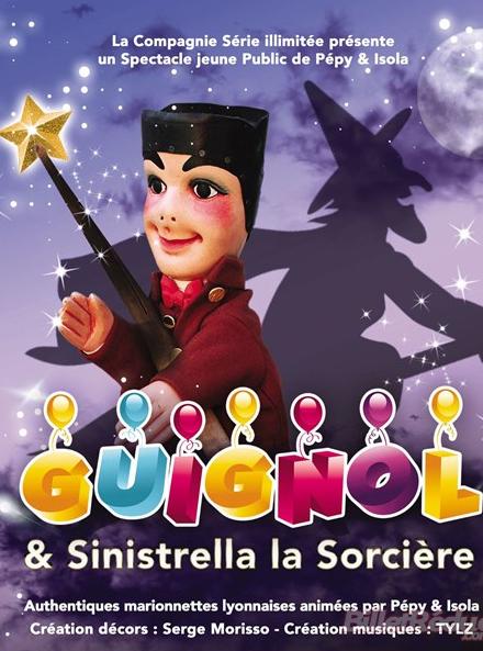 Guignol et Sinistrella la sorcière - Thierry Lopez
