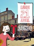 Chasse aux oeufs de Pâques 2014 avec CitizenKid Bordeaux- matin