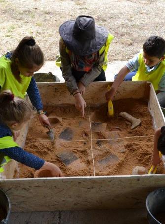 Ateliers vacances site archéologique Lattara