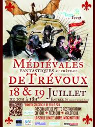 Affiche 2015 Les Rives du Temps - Médiévales de Trévoux