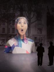Fête des Lumières 2016 : Face