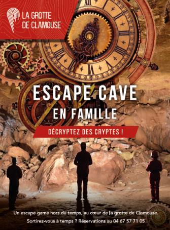 Escape Cave à la Grotte de Clamouse