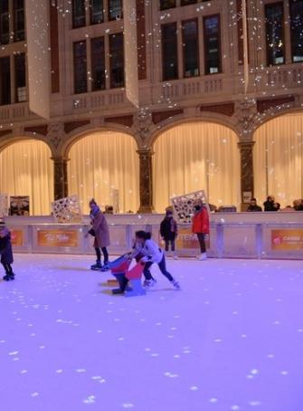 Patinoire de Noël à la CCI de Lille