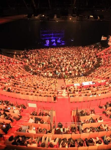 L'Amphithéâtre (salle 3000) - Cité Internationale de Lyon