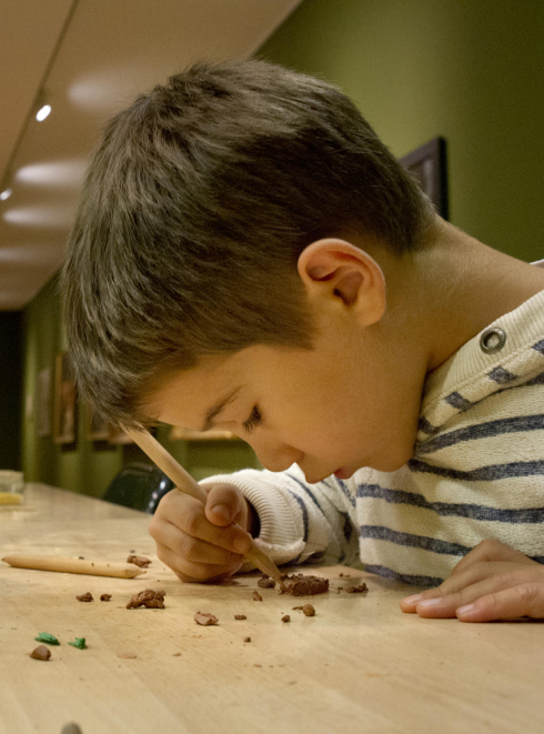 Les ateliers pour enfants aux Musée des Beaux -Arts