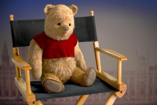 Jean-Christophe et Winnie : interview londonienne des personnages - Winnie l'ourson