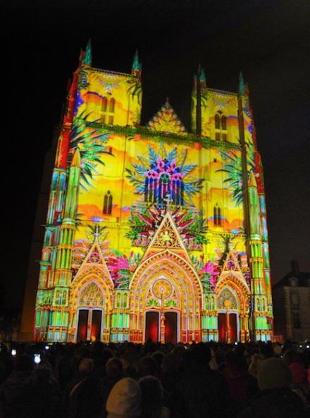 Lucia : son et lumière de Noël
