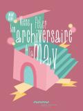 Anniversaire à la Maison de l'architecture
