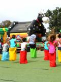 Une animation au Corbi Parc.